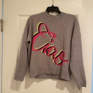 """Philosophy sweater """"ciao"""""""